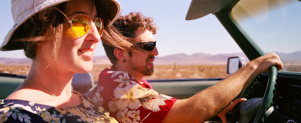 A Fear and Loathing in Las Vegas Engagement Shoot on 35mm film.