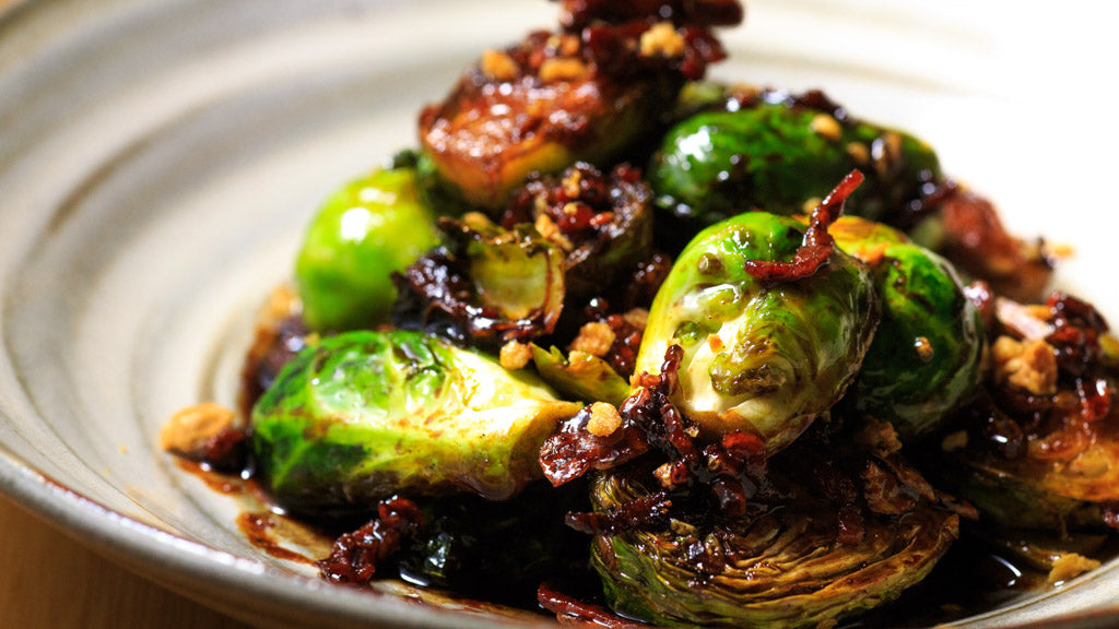 Photo of yummy Asian Brussel sprouts in Las Vegas