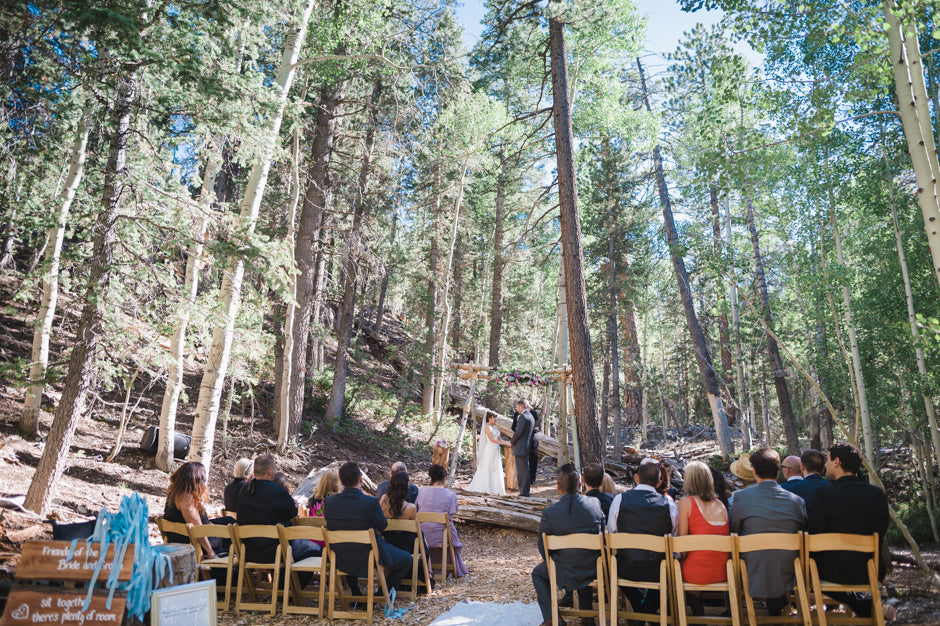 An Enchanted Las Vegas Ski Resort Wedding at Mount Charleston