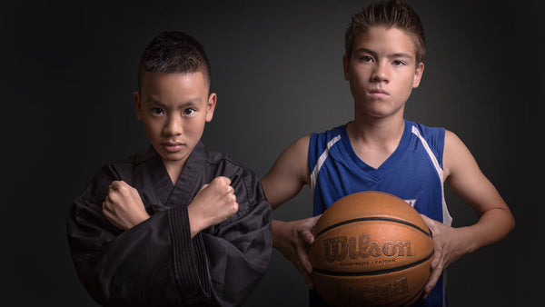 sports portraits las vegas