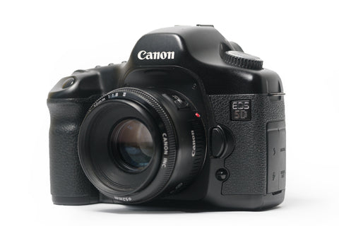 Canon 5D Mark I w/ 50mm 1.8 Lens