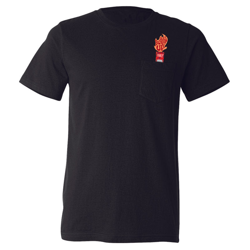 Fire Sauce Packet Pocket Shirt
