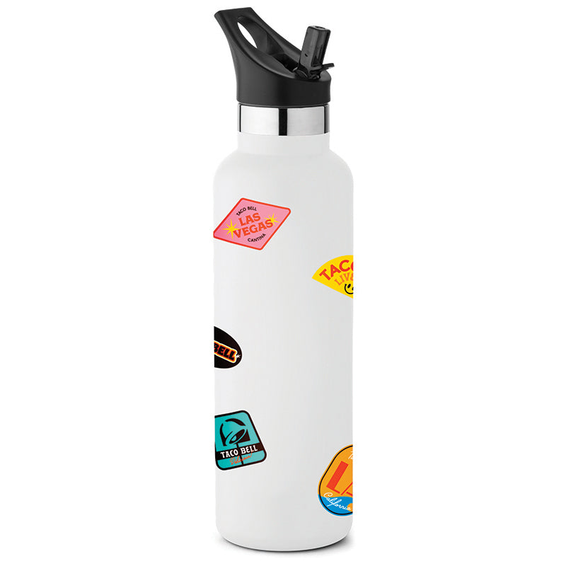 22oz Taco Bell 'Wish You Were Here' Waterbottle