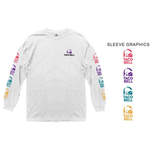 Taco Bell Colorful Logo Long Sleeve Shirt