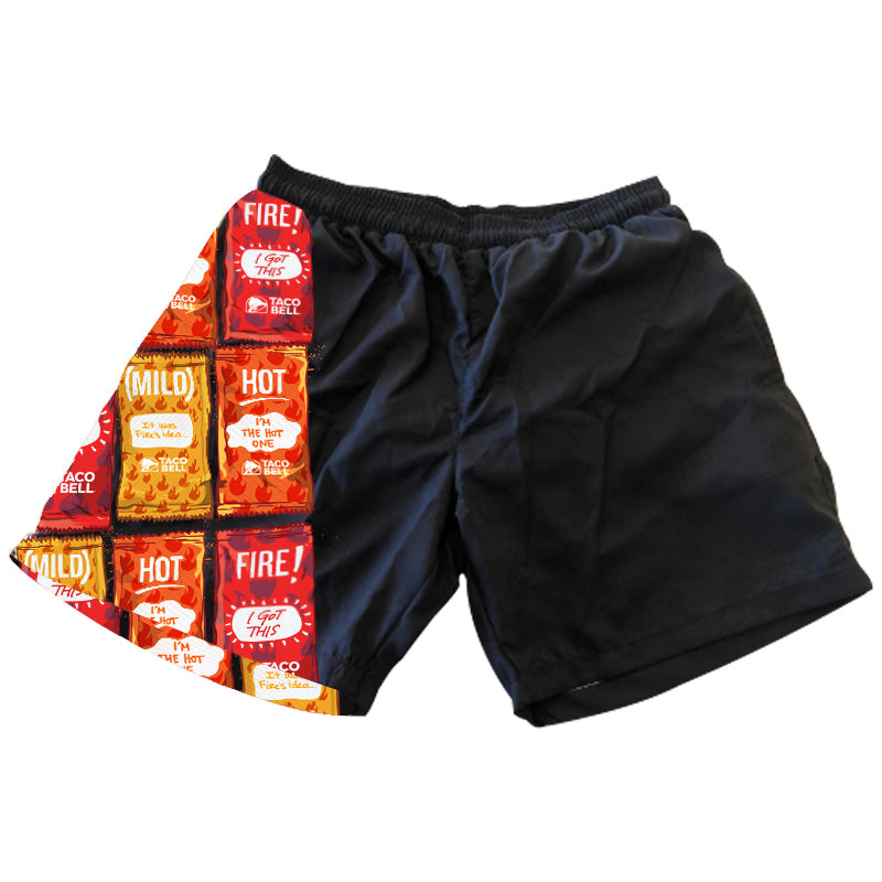 Sauce Packet Swim Trunks