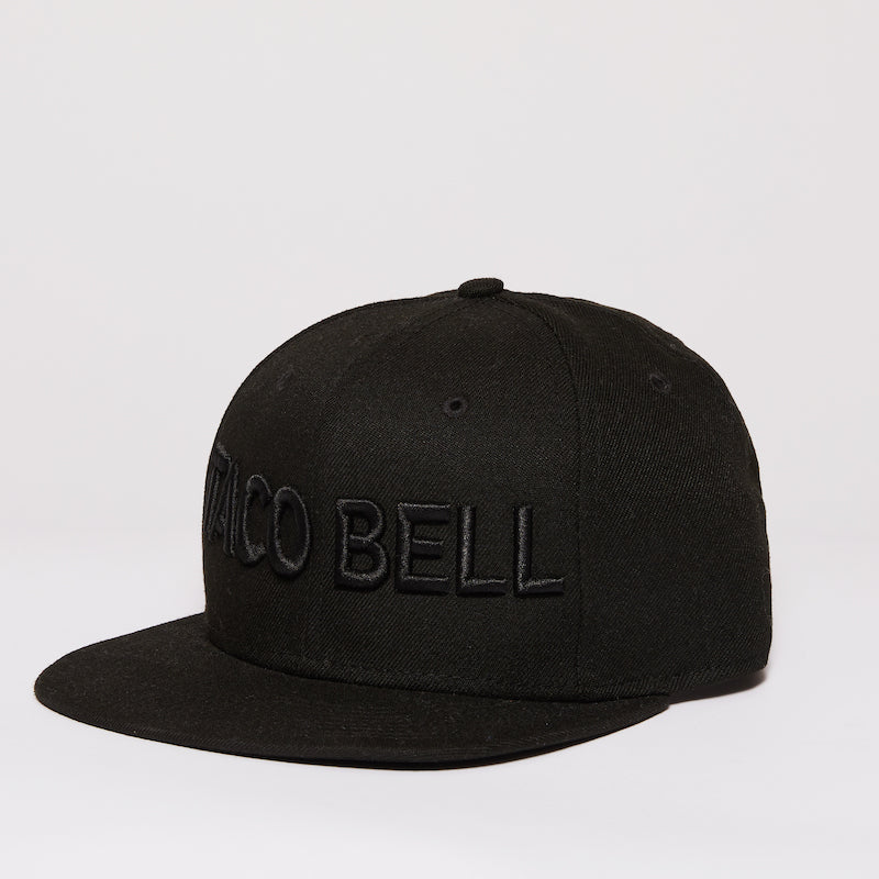 Taco Bell® Embroidered Logo Flat Bill Hat