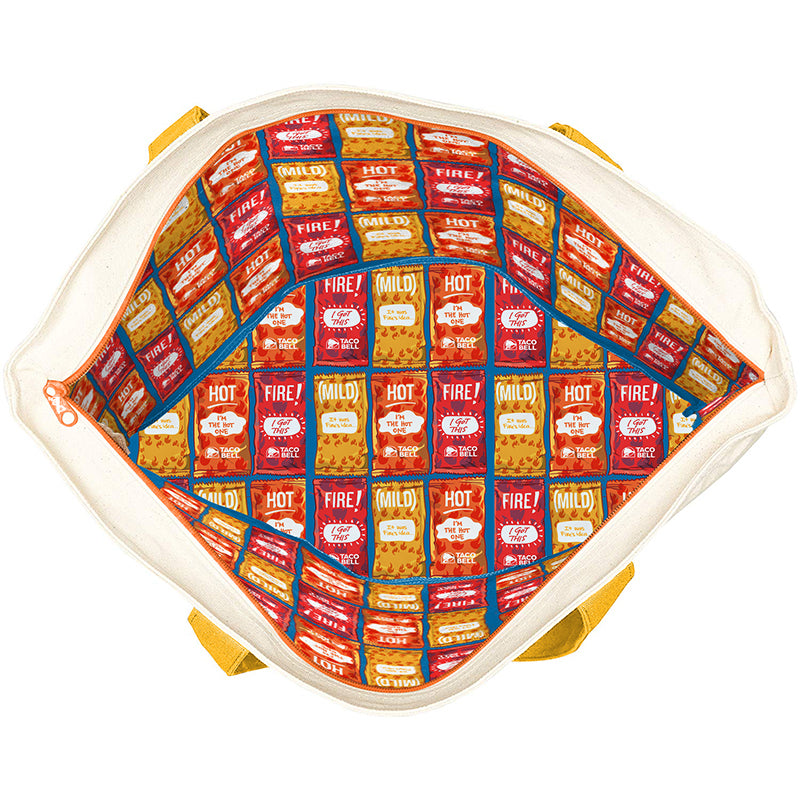 Taco Bell Sauce Packet Duffel Bag