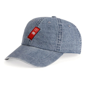 Fire Sauce Packet Denim Unstructured Hat