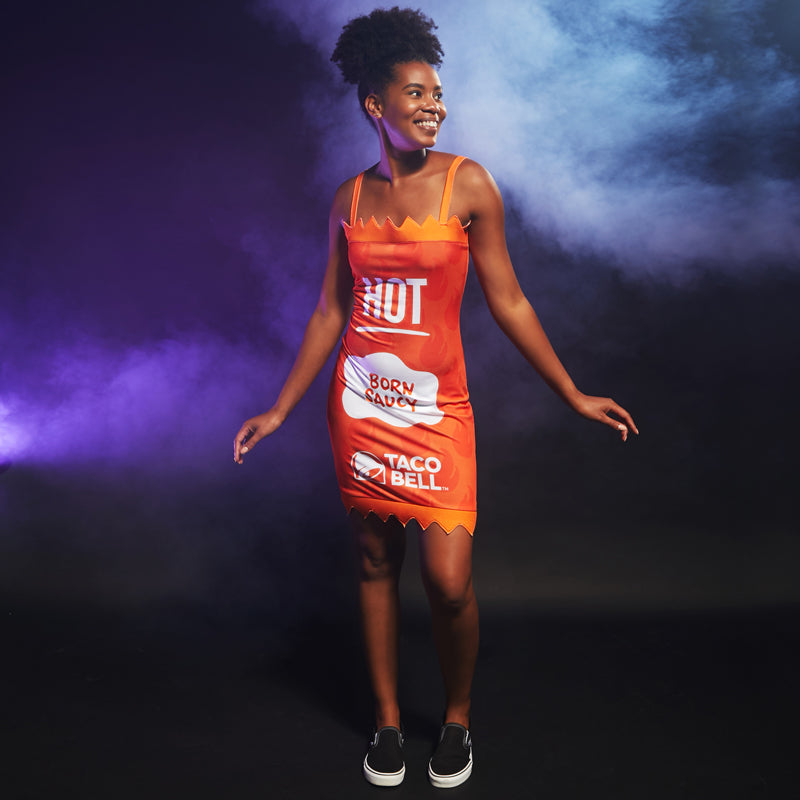 Taco Bell Hot Sauce Packet Dress
