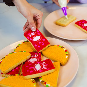 Taco Bell Cookie Stamp Set