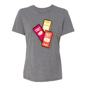 Taco Bell Sauce Packet Trio Shirt