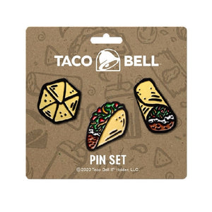 Taco Bell Cravings Enamel Pin Set