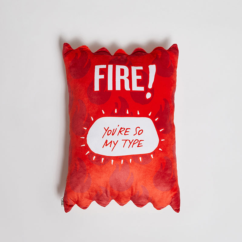 Taco Bell Fire Sauce Packet Pillow