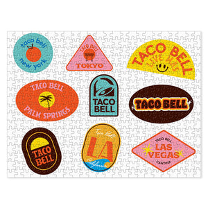 Taco Bell Signs Puzzle