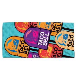 Taco Bell Pop Art Beach Towel