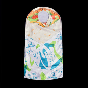 Taco Bell 7-Layer Burrito Baby Bunting