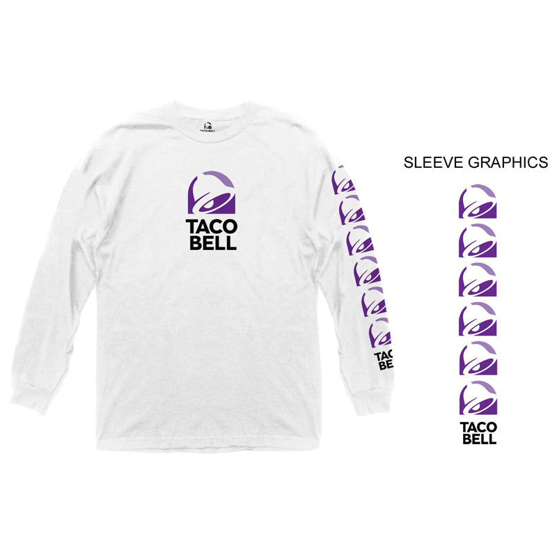 Taco Bell Logo Long Sleeve Shirt