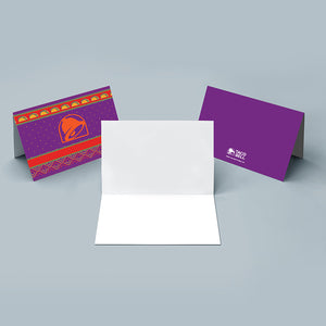 Taco Bell Sweater Greeting Card