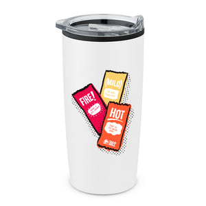 20oz Taco Bell Sauce Packet Trio Hot Tumbler