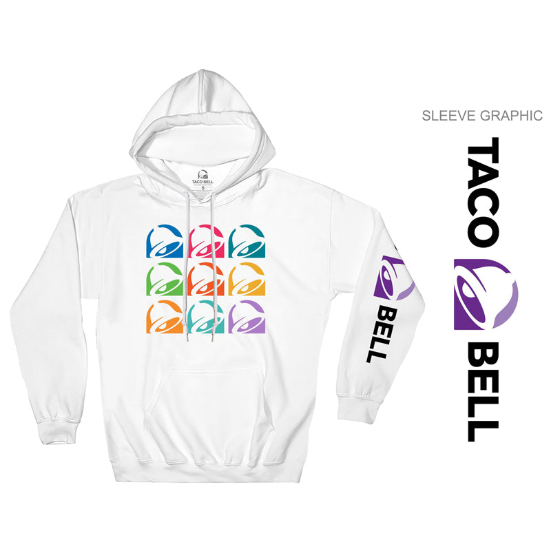Taco Bell Colorful Logo Hoodie