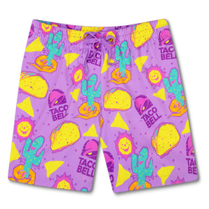 "Chubbies x Taco Bell 'The Taco Trunk' 5.5"" Swim Trunks"
