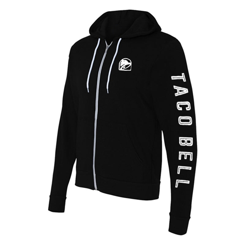 Taco Bell Logo Zip-Up Sweatshirt