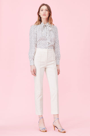 Notch Suiting Pant in Vanilla