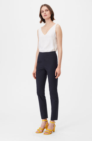 Tailored Stretch Modern Suiting Pant in Navy