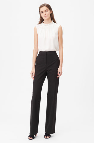 Tailored Stretch Modern Suiting Pant in Black