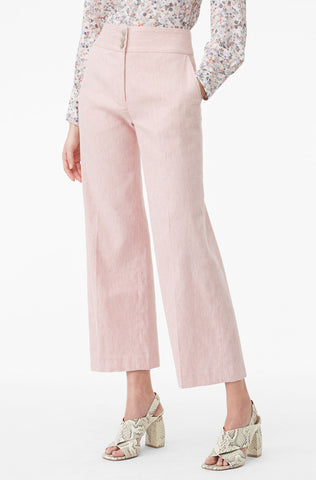 Tailored Slub Suiting Pant in Rosa