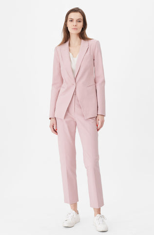 Tailored Stretch Modern Suiting Jacket in Primrose