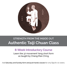 Load image into Gallery viewer, 8-week Taiji Class