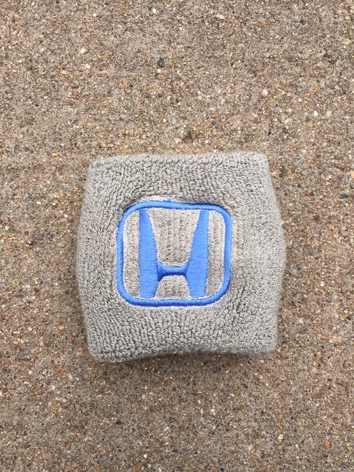 Honda Gray with Blue Reservoir Cover