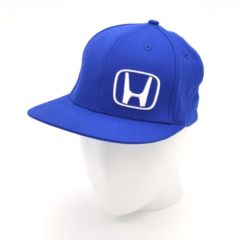 Honda Blue and White Fitted Small Hat