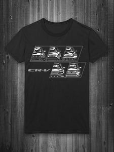 Honda CR-V Generations T-Shirt