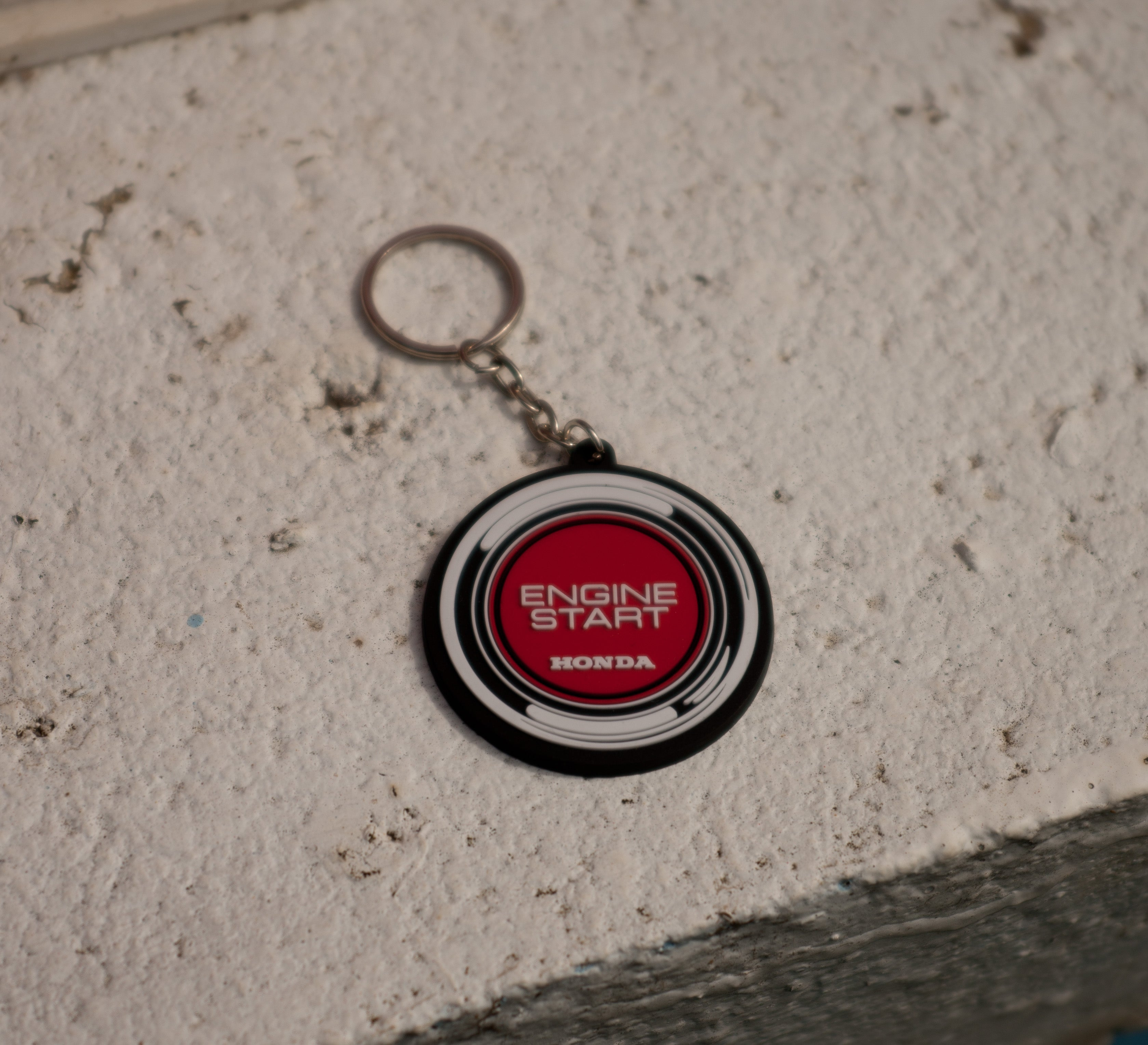Honda Push Button Start Keychain