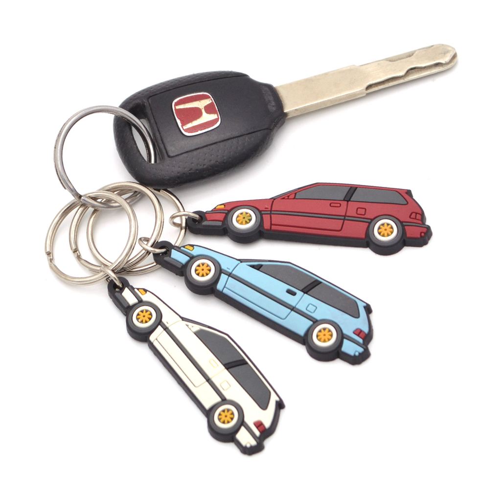 Honda Civic EF Hatchback Keychain