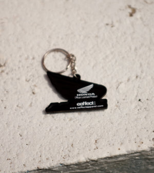 Honda Wings Keychain Back