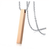 Personalized Gold Plated Bar Necklace Special Offer