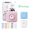 PeriPage Mini Portable Thermal Printer Photo Pocket Photo Printer 58 mm Printing Wireless Bluetooth Android IOS Printers
