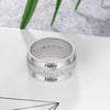 Personalized Promise Couple Ring