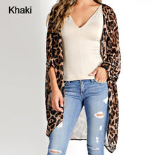 Load image into Gallery viewer, Women's Bohemian Leopard Printed Blouse