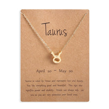 Load image into Gallery viewer, Zodiac-Sign-Gold-Pendant-Necklace.jpg