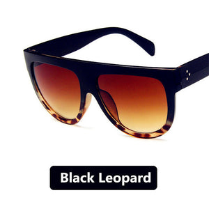 Women Oval Half Round Frame Sunglasses