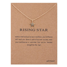Load image into Gallery viewer, Women's Sun Love Star Leaves Necklaces