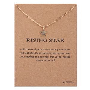 Women's Sun Love Star Leaves Necklaces