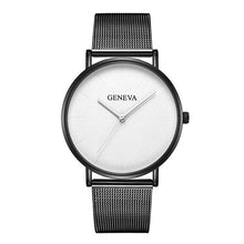 Load image into Gallery viewer, Women's Mesh Belt Rose Gold Watch