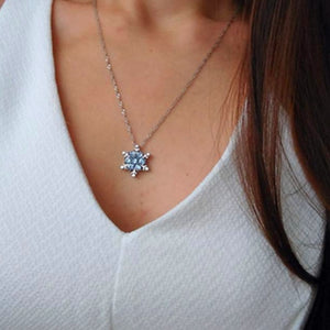 Multilayer Crystal Pendant Necklace
