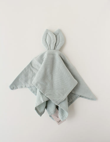 SAGA Copenhagen baby cuddle cloth DUSTY GREEN
