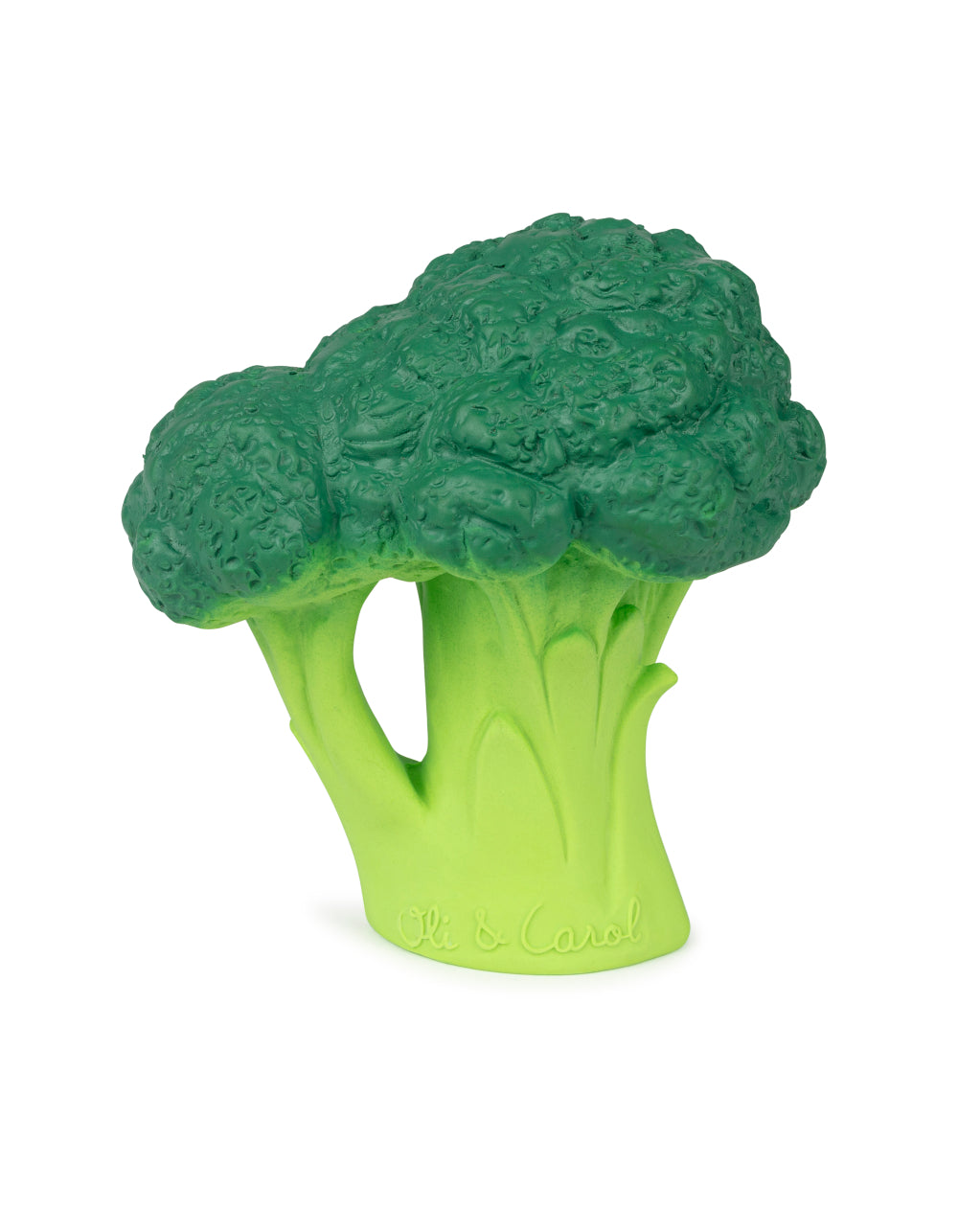 oli&carol natural rubber toy Brucy The Broccoli